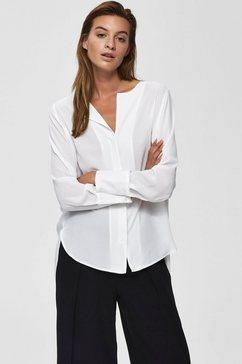 selected femme blouse zonder sluiting »slfstina-dynella« wit