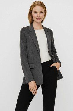 vero moda korte blazer vmjillnina l-s blazer grijs