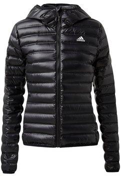 adidas performance outdoorjack varilite daunenjacke zwart