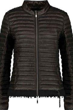monari gewatteerde jas zwart