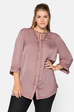 sheego lange blouse roze