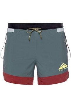 "nike runningshort nike dri-fit flex stride men's 5"" trail shorts grijs"