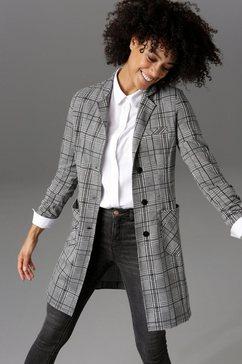 aniston casual korte jas zwart