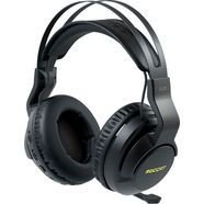 roccat gaming-headset elo 7.1 air - draadloze surround sound rgb pc gaming-headset zwart