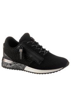 la strada sneakers met sleehak met sierrits aan de buitenkant zwart