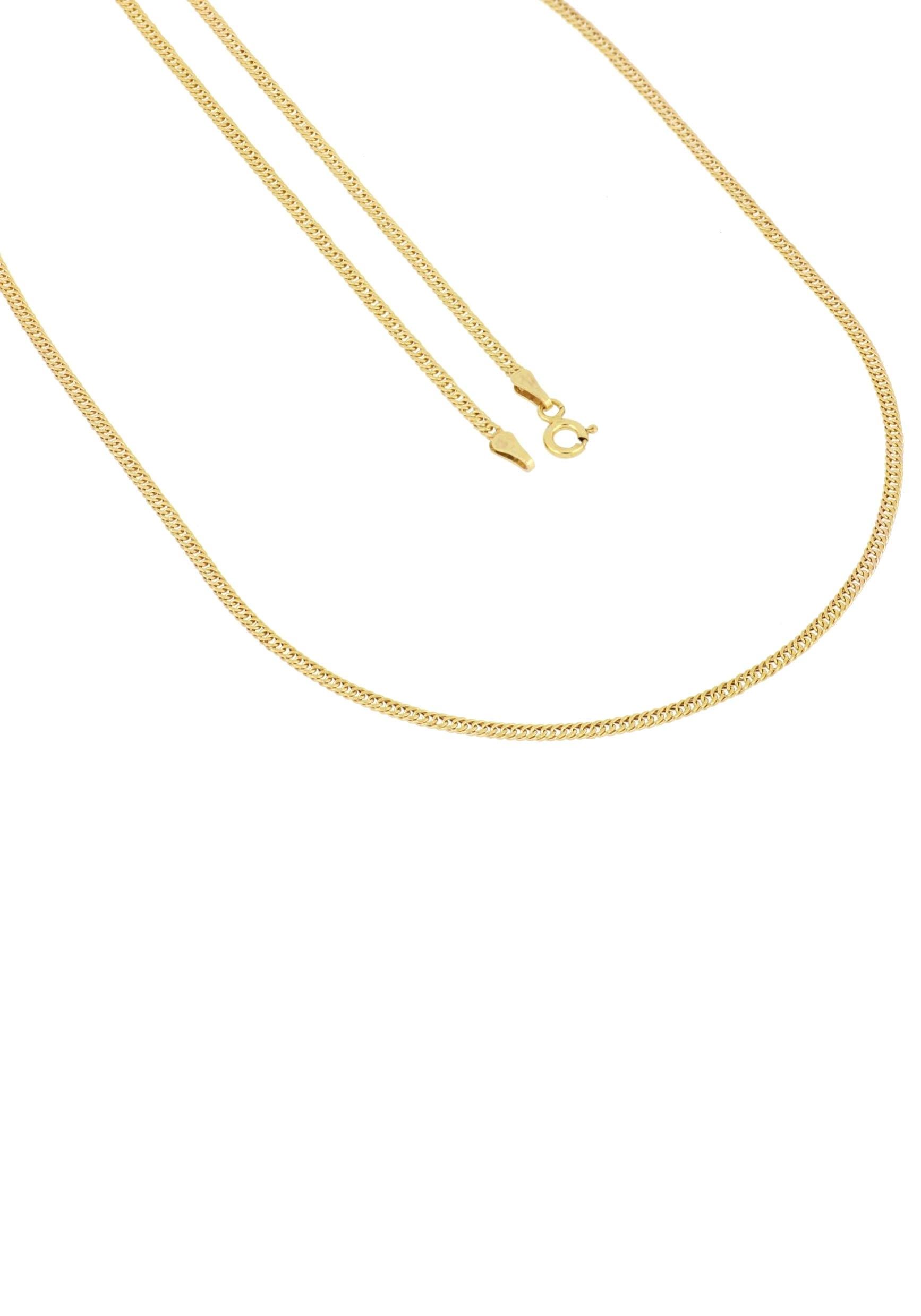 Firetti gouden ketting Pantserkettingschakels, 2 mm breed, gediamanteerd, half massief veilig op otto.nl kopen