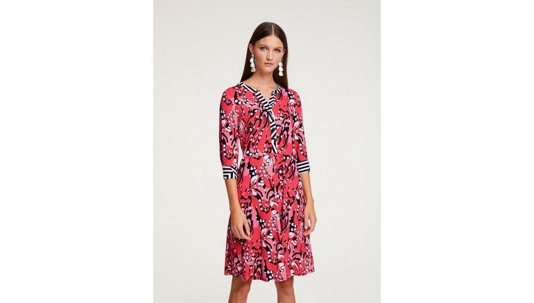 RICK CARDONA by Heine jerseyjurk Gedessineerde jurk