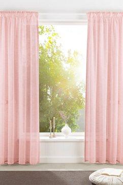 otto products gordijn lilja duurzame (1 stuk) roze