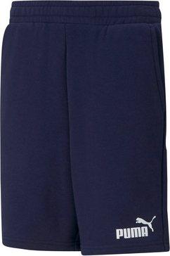 puma sweatshort ess sweat shorts b blauw
