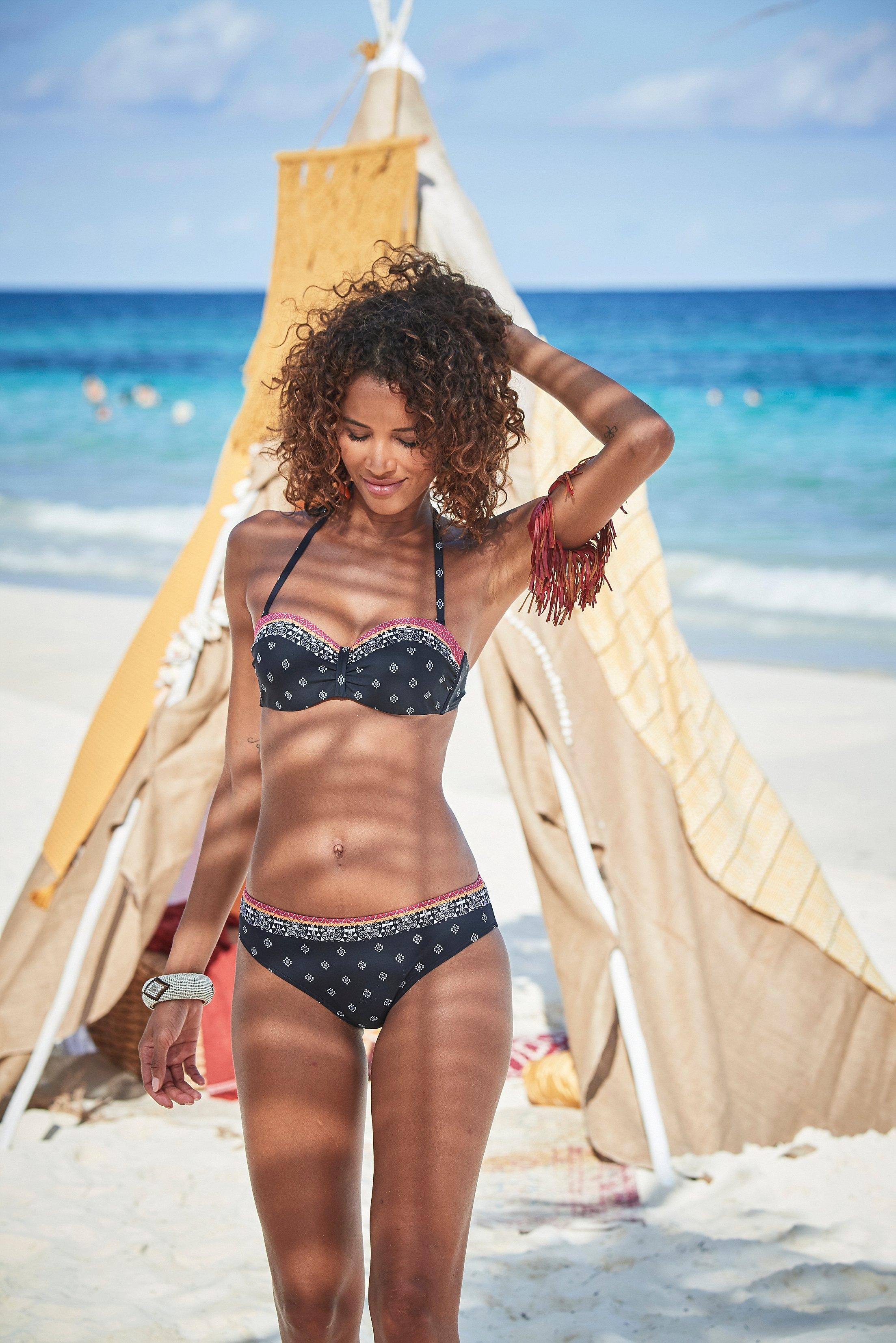Lascana bikinibroekje Kimer met een moderne print online kopen op otto.nl