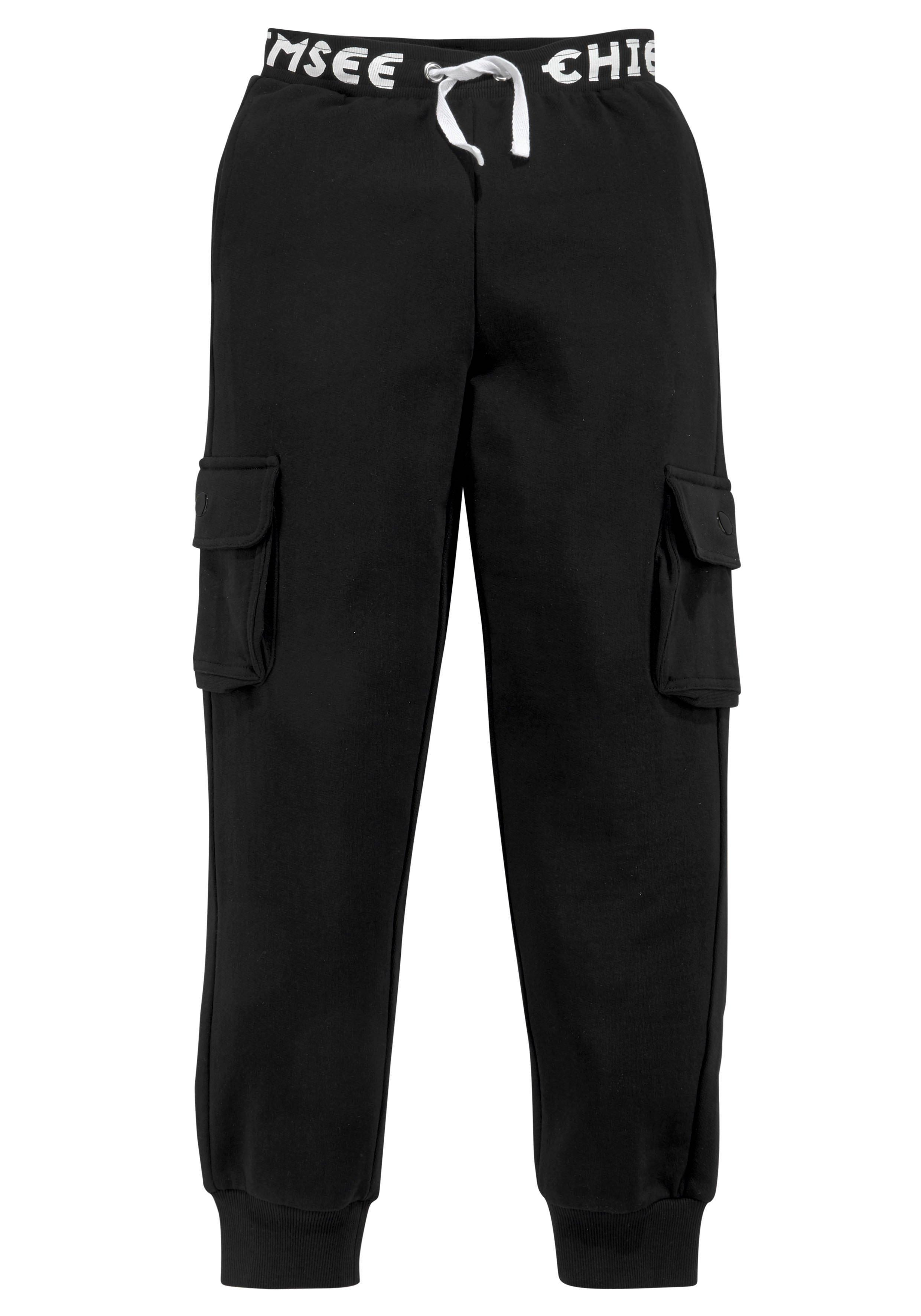 Chiemsee sweatpants Met een groot logo in de band in de webshop van OTTO kopen