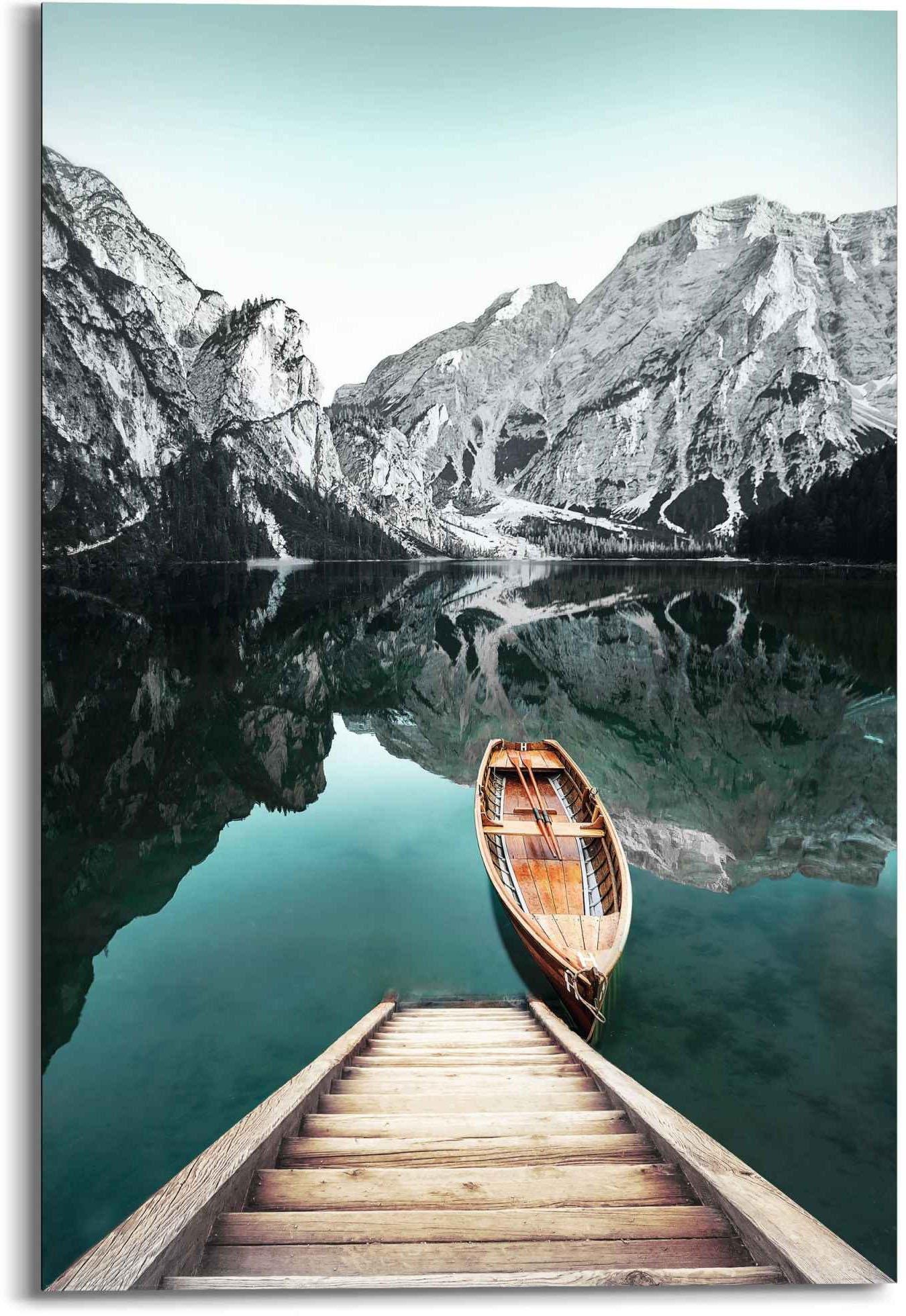 Reinders! artprint Wandbild Berg See Rocky Mountains - Glacier - Winter (1 stuk) nu online bestellen