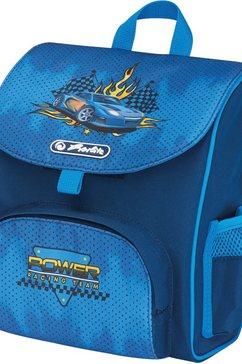 herlitz schooltas voor kleuters mini softbag race car blauw
