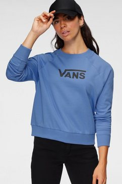 vans sweatshirt »flying boxy« blauw