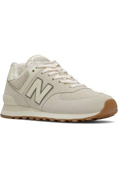 """new balance sneakers wl574 """"warm lining pack"""" beige"""