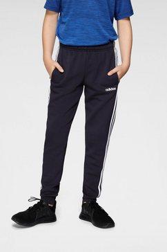adidas performance trainingsbroek »essentials 3-streifen« blauw