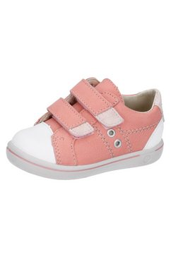 pepino by ricosta sneakers nippy - wms-wijdte-meetsysteem, wijdte: middel met modieuze rubberneus roze