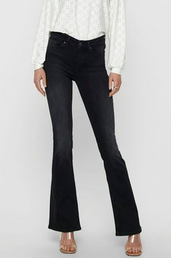 only wijd uitlopende jeans »onlblush life« zwart