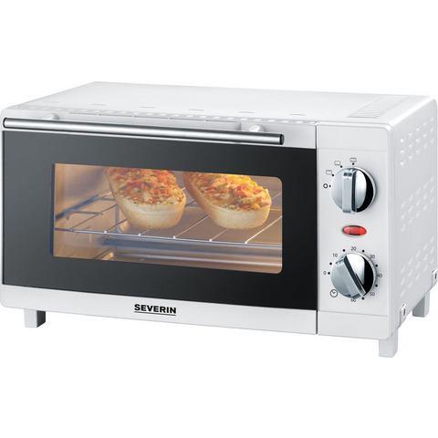 Severin Mini Oven 9 Liter 800 Watt Wit TO 2054 Stuk