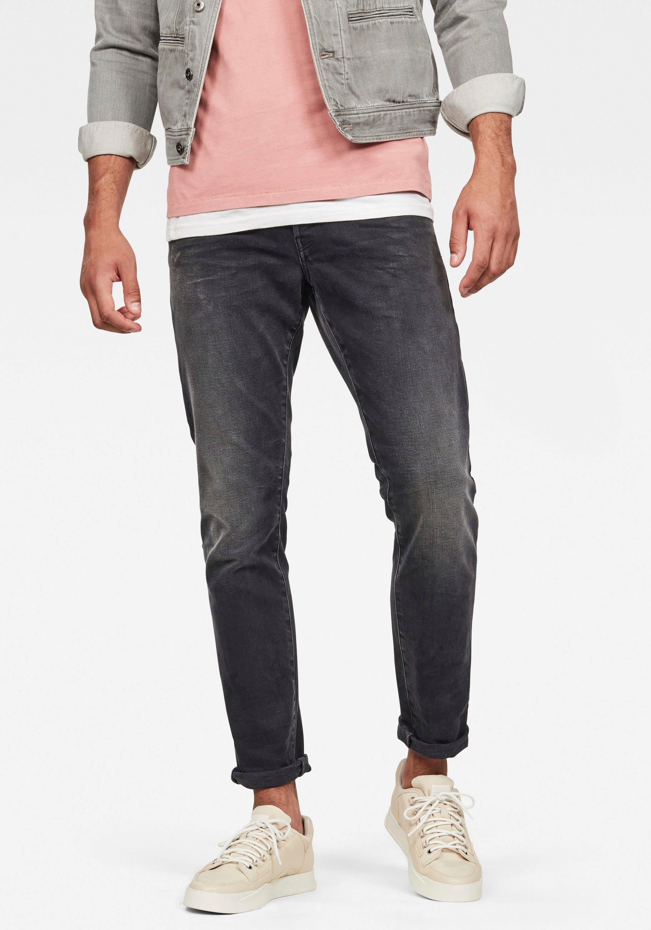 G-Star RAW regular fit jeans »3301 Straight Tapered« voordelig en veilig online kopen