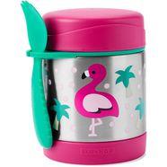 skip hop thermo-schaal »zoo edelstahl warmhaltebehaelter flamingo« multicolor
