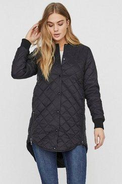 vero moda doorgestikte jas »vmhayle« zwart