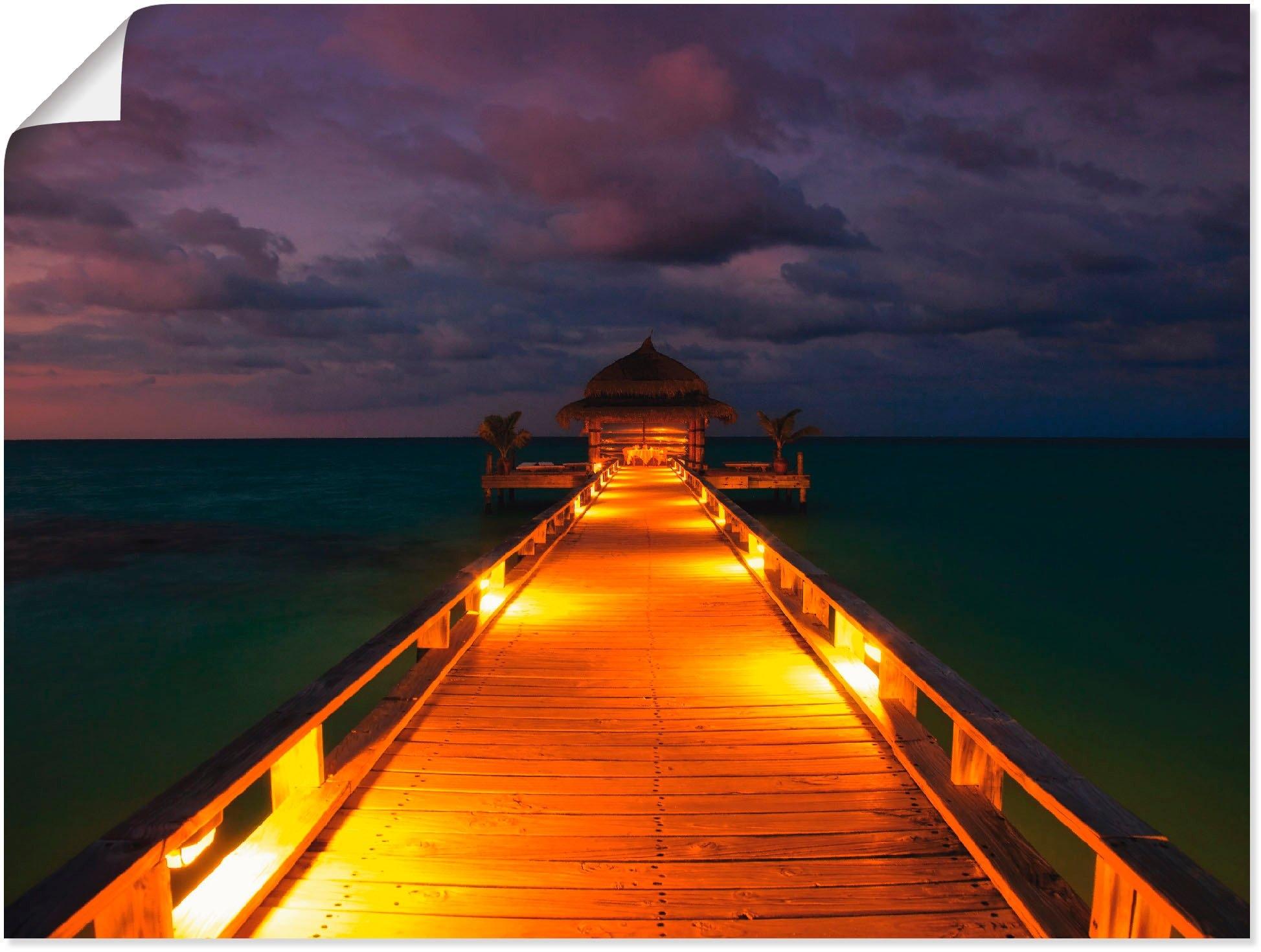 Op zoek naar een Artland artprint »Malediven«? Koop online bij OTTO