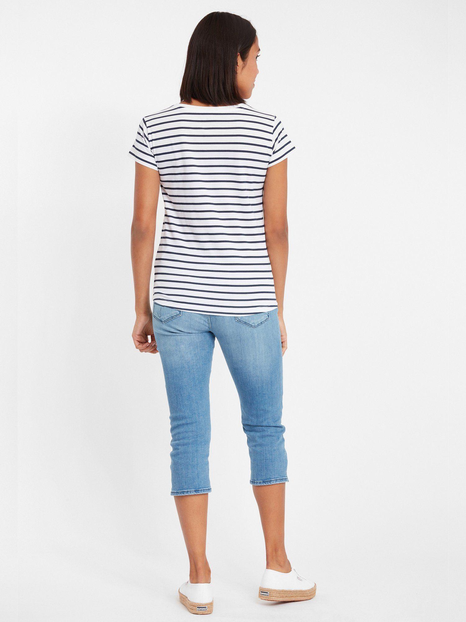 Cross Jeans T-shirt 55573 In De Online Winkel - Geweldige Prijs