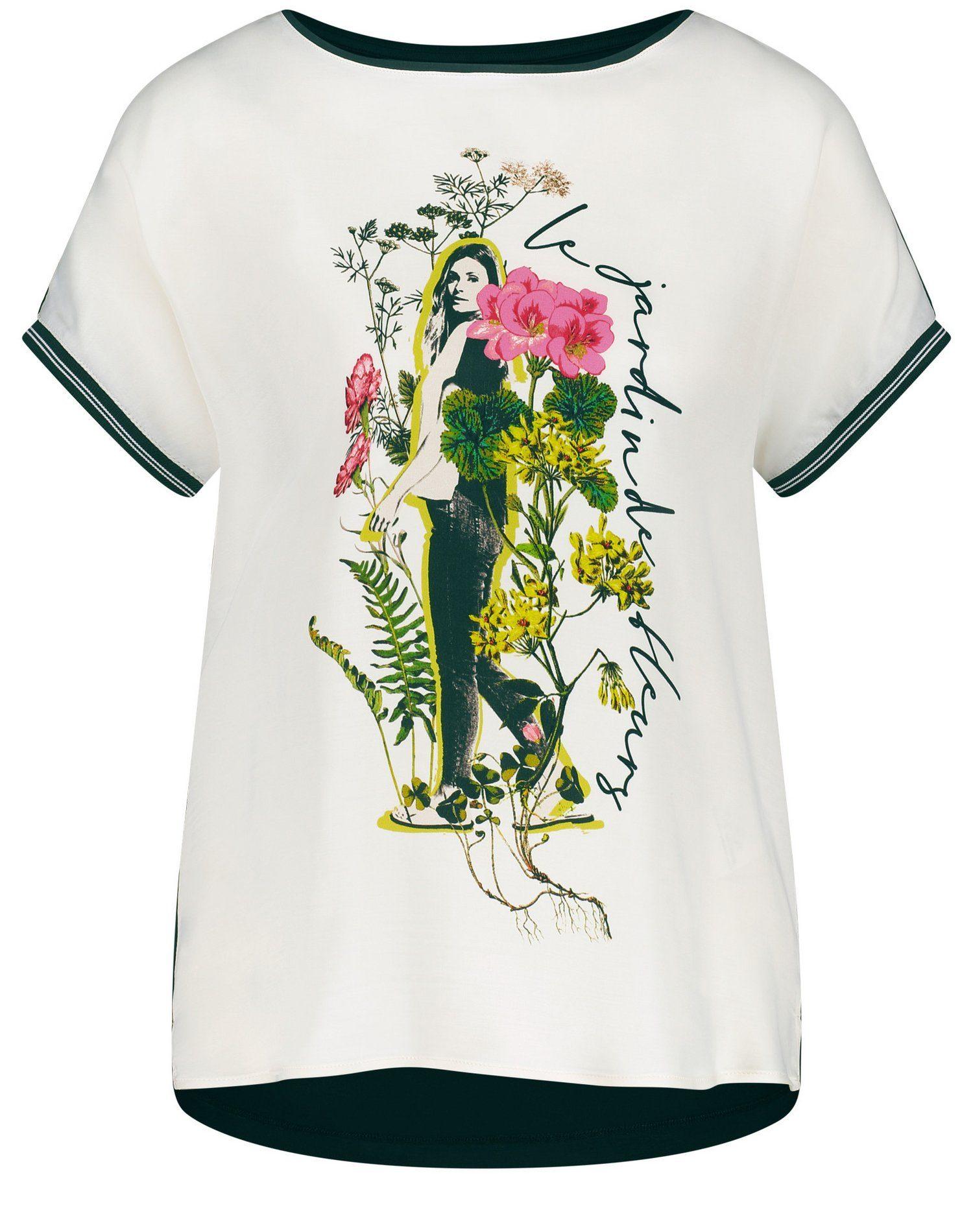 Gerry Weber T-shirt Met Korte Mouwen Shirt Mit Pictureprint In De Online Shop - Geweldige Prijs