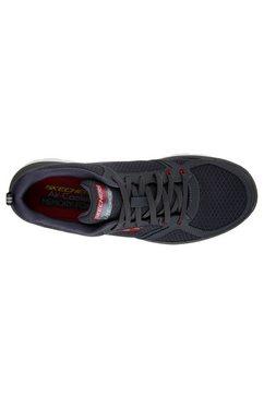 skechers sneakers »flex-advantage 2.0 - lindman« grijs