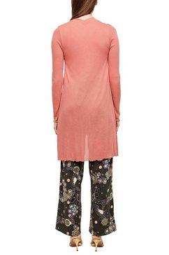 s.oliver black label lang vest roze