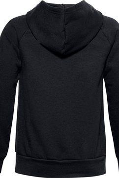 under armour hoodie »rival fleece hoodie« zwart