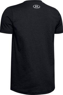 under armour t-shirt »logo shortsleeve« zwart