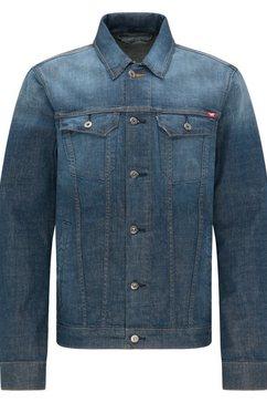 mustang jeansjack »jacke dallas« blauw