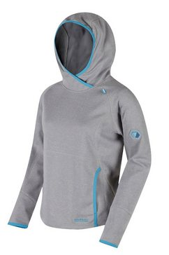 regatta fleecetrui »damen montem iii kapuzen fleece« grijs