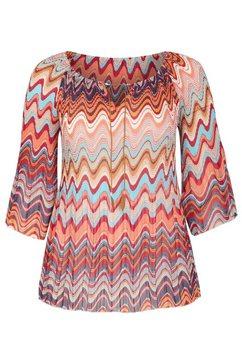 paprika gedessineerde blouse multicolor