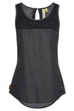 alife and kickin lange blouse »carlaak« zwart