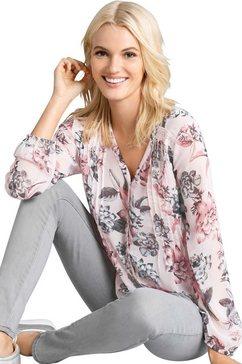 classic inspirationen crêpe-blouse roze