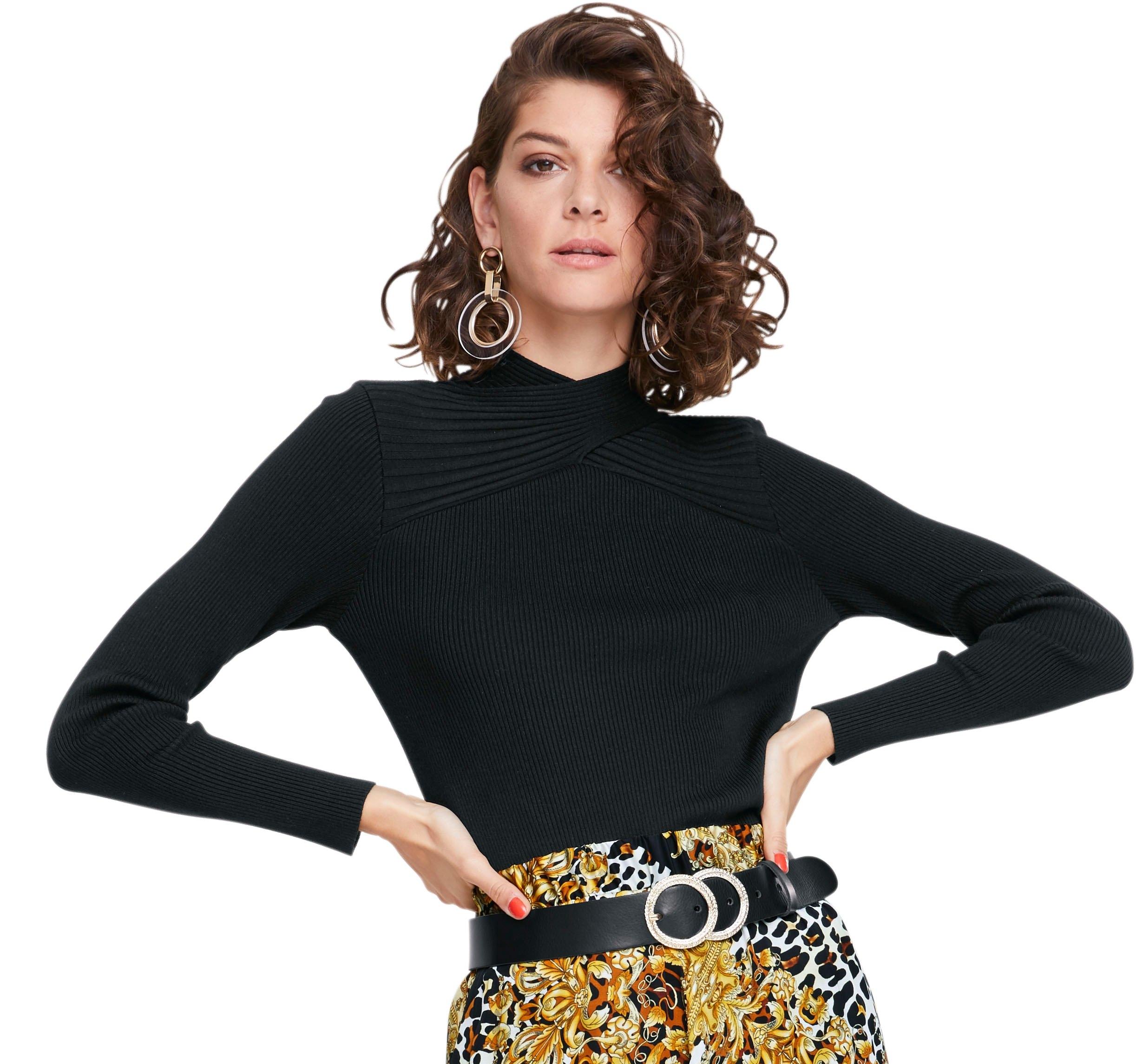creation L trui met staande kraag voordelig en veilig online kopen