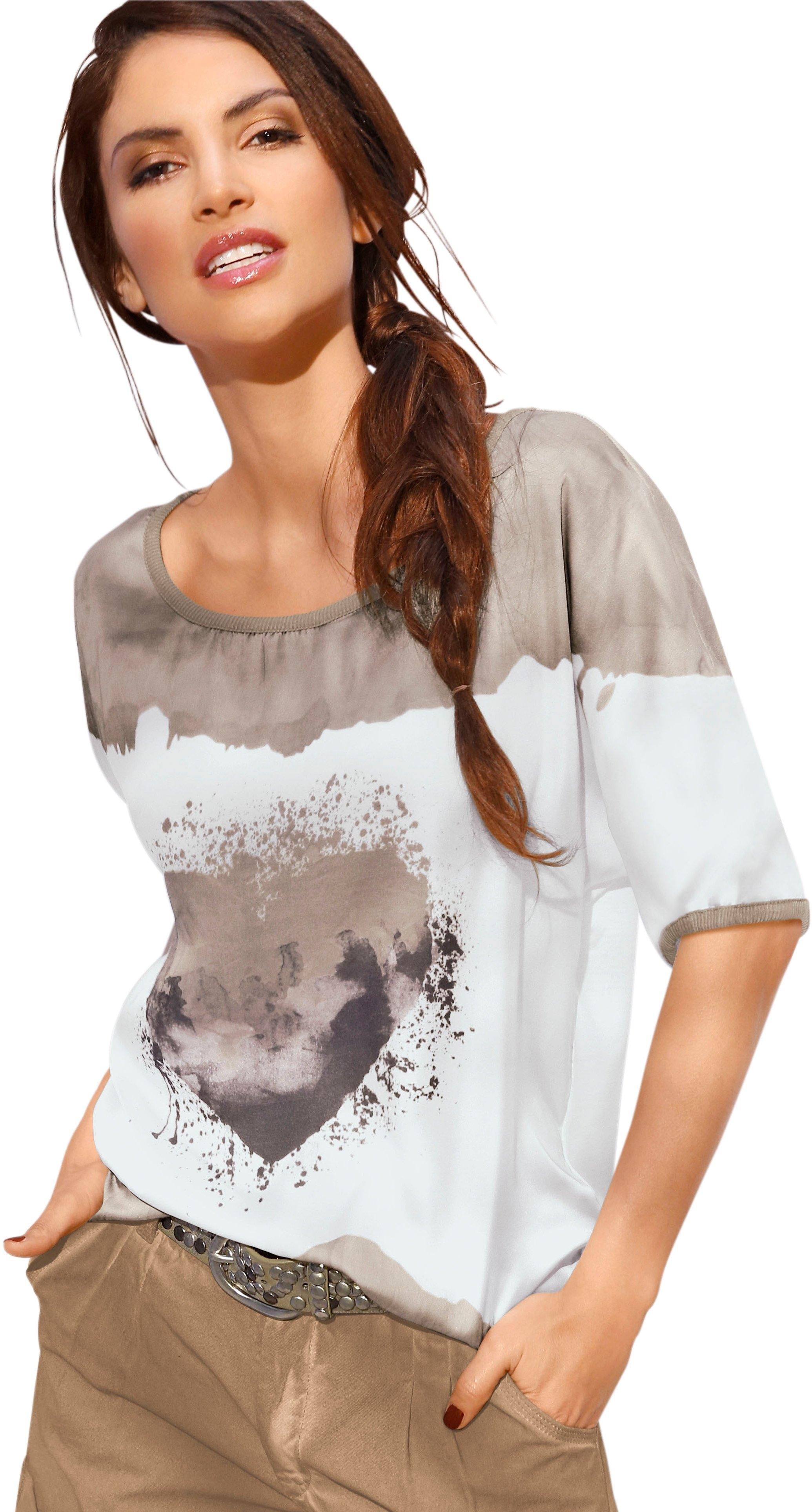 Création L creation L shirt met 3/4-mouwen goedkoop op otto.nl kopen