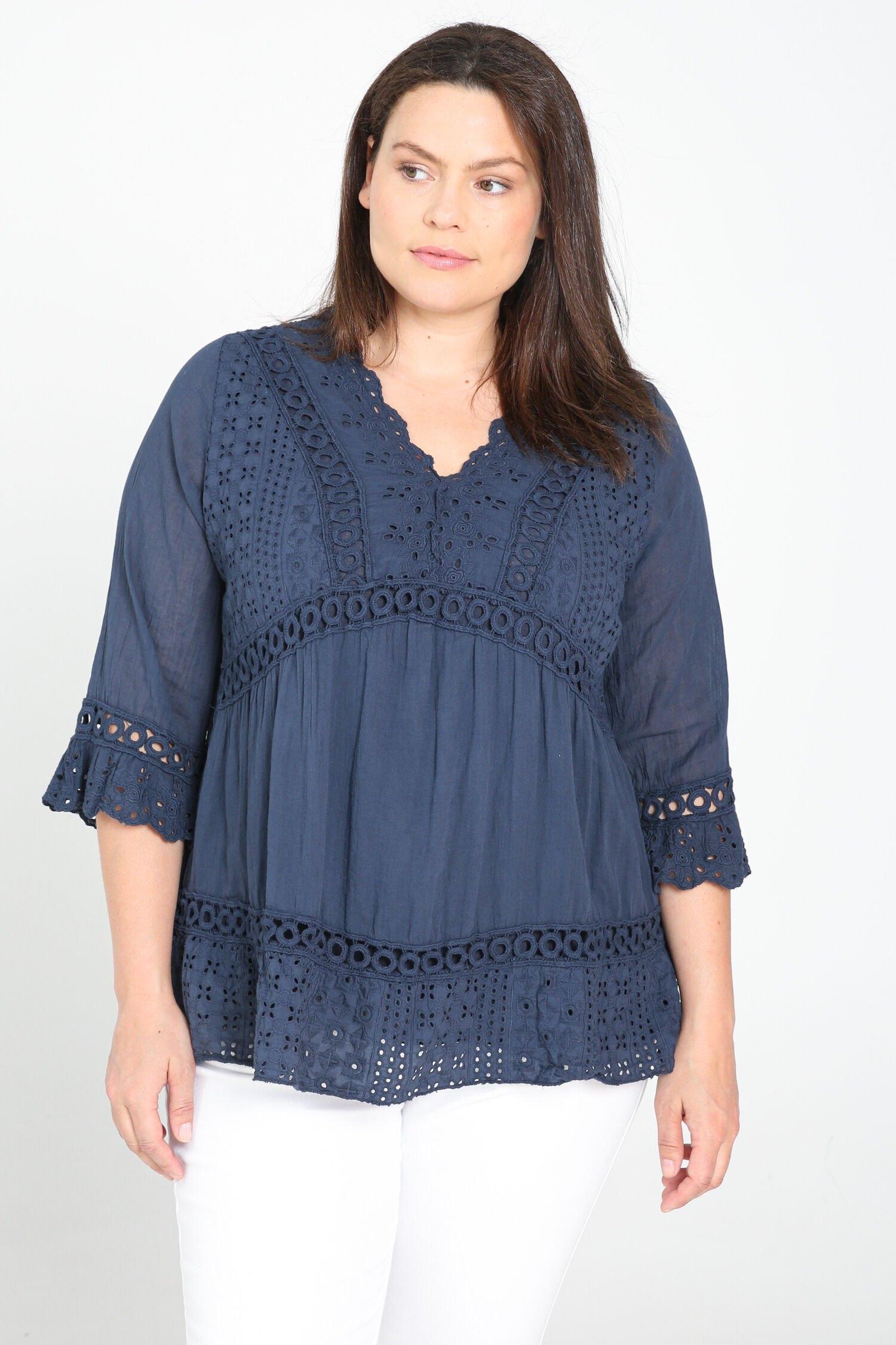 Paprika kanten blouse voordelig en veilig online kopen
