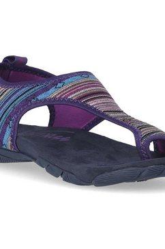 trespass strandschuh »damen-frauen strand sandale« paars