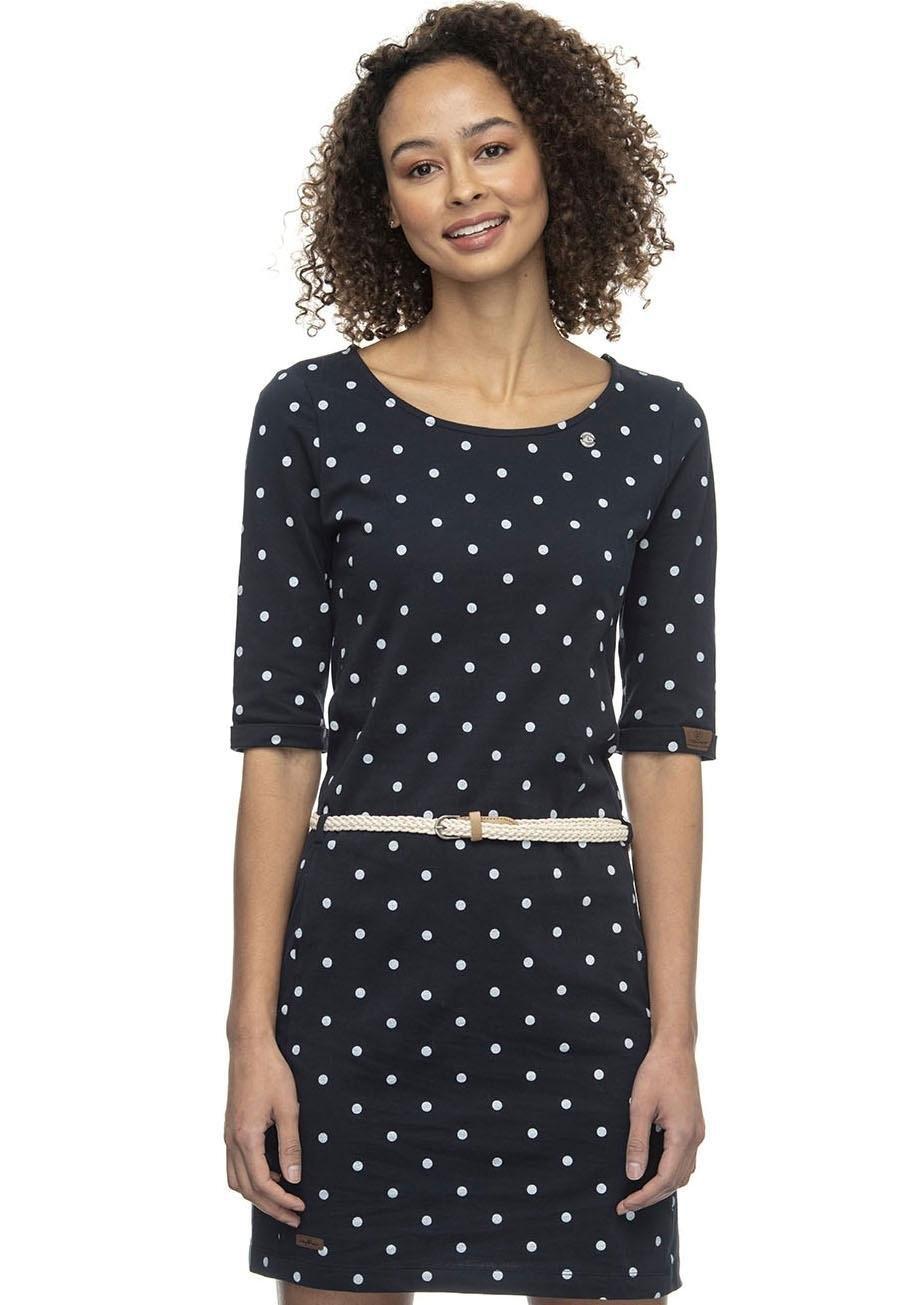 Op zoek naar een Ragwear jerseyjurk »TAMY« (Met een afneembare riem)? Koop online bij OTTO