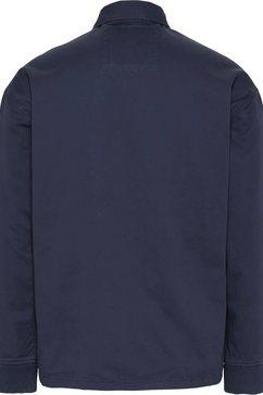 tommy jeans blousonjack »tjm casual cotton jacket« blauw