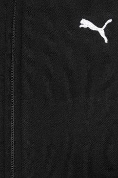 puma joggingpak »amplifield sweat suit« zwart