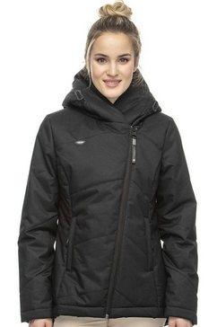 ragwear gewatteerde jas »gordon a« zwart
