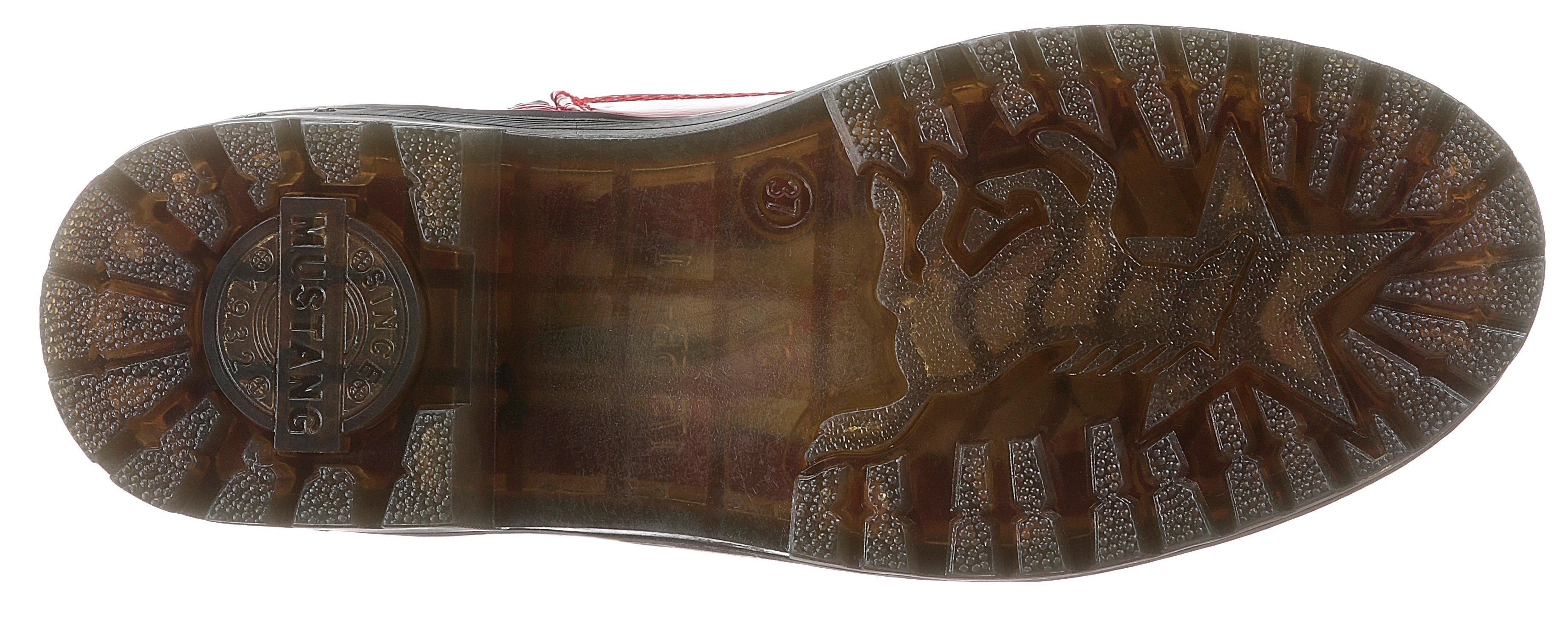 Mustang Shoes hoge veterschoenen veilig op otto.nl kopen