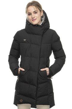 ragwear gewatteerde jas »pavla« zwart
