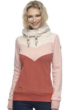 ragwear sweater »trega« roze