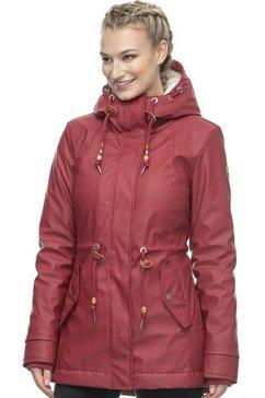 ragwear regenjack »monadis rain« rood